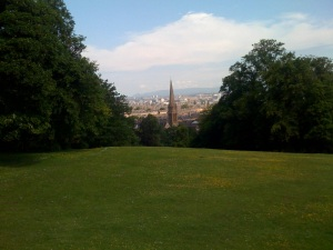 queen's park in the sunshine