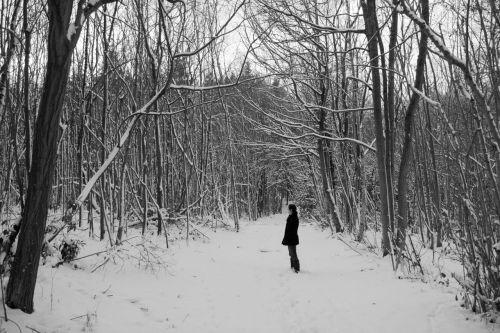 me in the snow last week